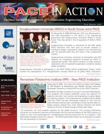 Sungkyunkwan University (SKKU) in South Korea Joins PACE ...