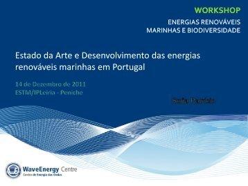 Estado de arte e desenvolvimento das energia renováveis - spea.pt