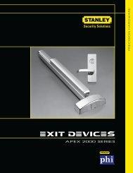 Apex 2000 Series - Precision Hardware