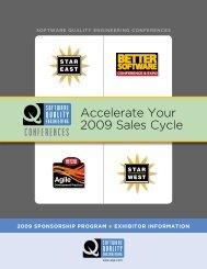 2009 Sponsor and Exhibitor Guide - SQE.com