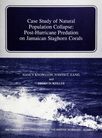 Case Study of Natural Population Collapse: Post-Hurricane ...