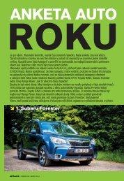 AUTO 4x4 ROKU 2013 - Subaru