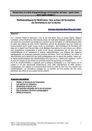 Mathématiques & illettrisme - Agence Nationale de Lutte contre l ...