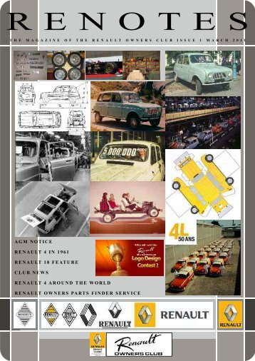 March 2011 Renotes Draft 300311.pdf - Renault Owners Club Forum