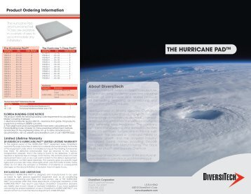 THE HURRICANE PADTM - media - DiversiTech
