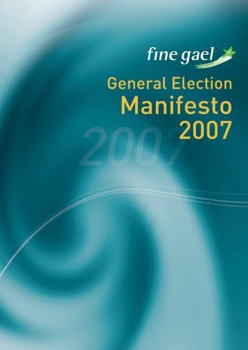 Fine Gael GE 2007