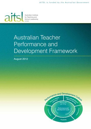 Australian Teacher Performance And Development Framework.pdf