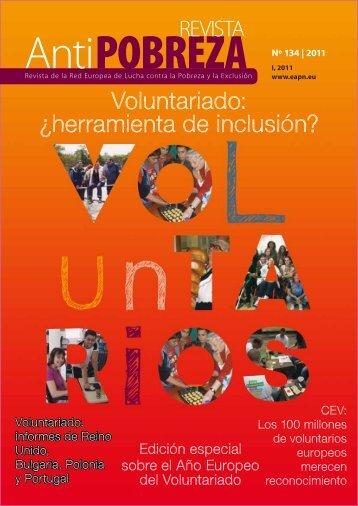 Voluntariado: ¿herramienta de inclusión? - Eapn