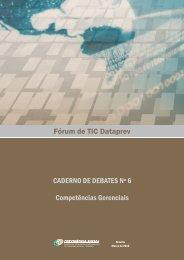 Caderno de Debates nº 6 - Dataprev