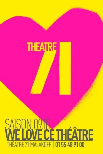 saison 09.10 - Théâtre 71