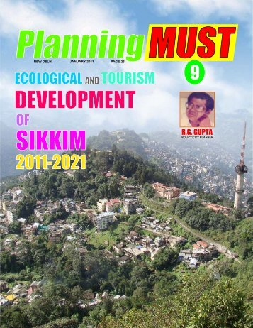 PM-9 Ecological & Tourism Development of Sikkim - RG Plan