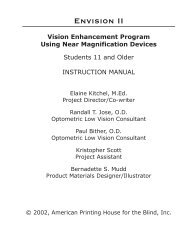 ENVISION II, Teacher's Instruction Manual, Print , Age 11 and Older