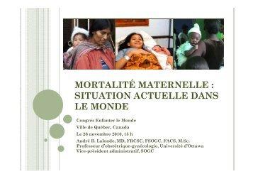 André Lalonde - Association pour la santé publique du Québec