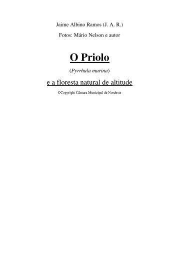 "do livro ""O Priolo e a Floresta Natural de Altitude"" - LIFE Priolo"