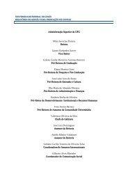 Relatório de Gestão 2005 - Pró-Reitoria de Administração e Finanças