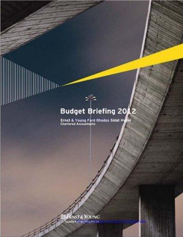 budget briefing 2012 - Imranghazi.com