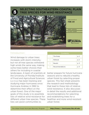 Established Trees - EDIS - University of Florida