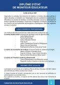 FORMATION DE MONITEUR ÉDUCATEUR - Arifts - Page 3