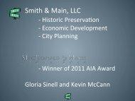 Historic Context Study Presentation - City of Gaylord