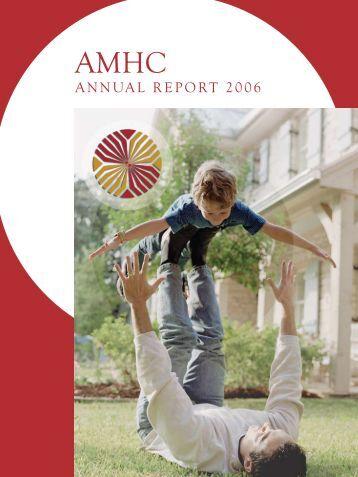ANNUAL REPORT 2006 - Aroostook Mental Health Center