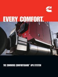 THE CUMMINS COMFORTGUARD™ APU SYSTEM - Cummins Onan