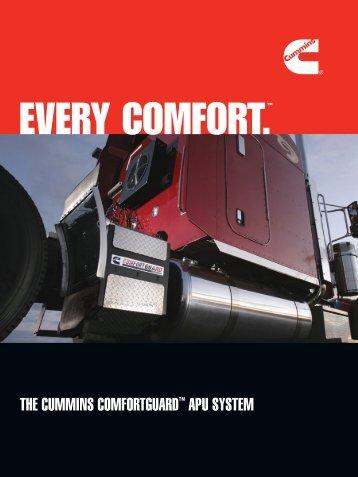 THE CUMMINS COMFORTGUARD™ APU SYSTEM - Cummins Onan