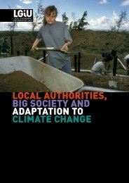 local authorities, big society and adaptation to climate change - LGiU