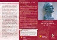 VOLTI e MEMORIE di ROMA - Ama