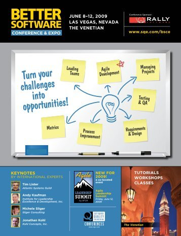Turn your challenges into opportunities! - SQE.com