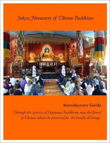 Sakya Monastery of Tibetan Buddhism - the Sakya Monastery of ...