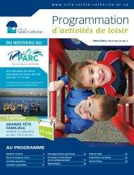 Programmation - Ville de Sainte-Catherine