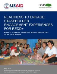 readiness to engage: stakeholder engagement ... - FCMC Global