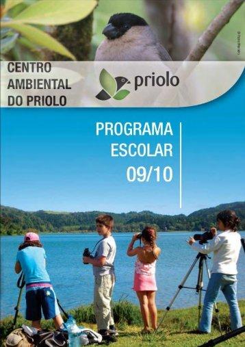 Template CAP - Programa Escolar - Centro Ambiental do Priolo - spea