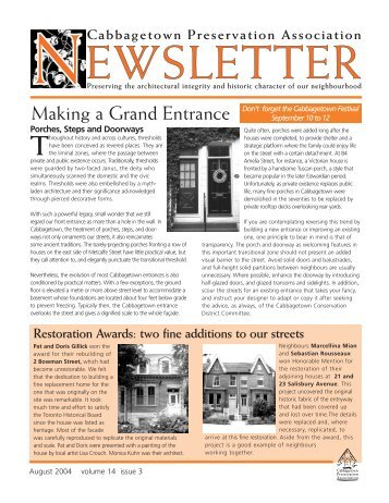CPA newsletter August 04 web - Cabbagetown Preservation ...