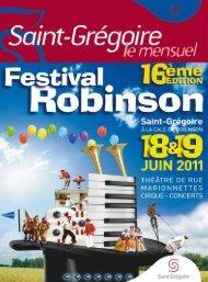 Saint-Grégoire, le Mensuel Juin 2011