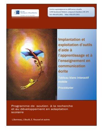 TBI mobile.pdf - École Jacques-Ouellette