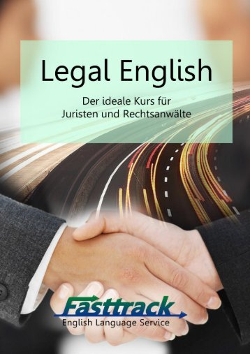 Legal English - Fasttrack Language Services