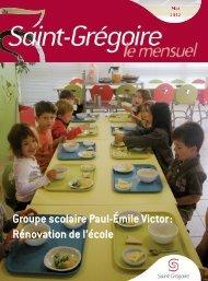 Saint-Grégoire, le Mensuel Mai 2012