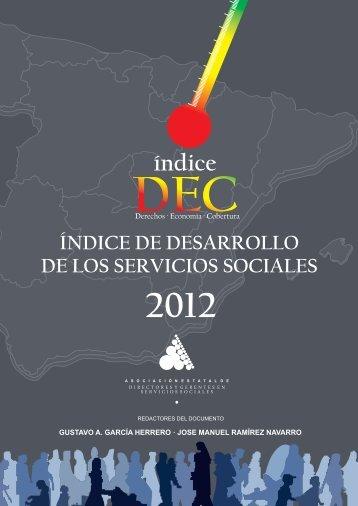 Índice de Desarrollo de los Servicios Sociales 2012 - Eapn
