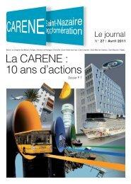 La CARENE : 10 ans d'actions - La Carène