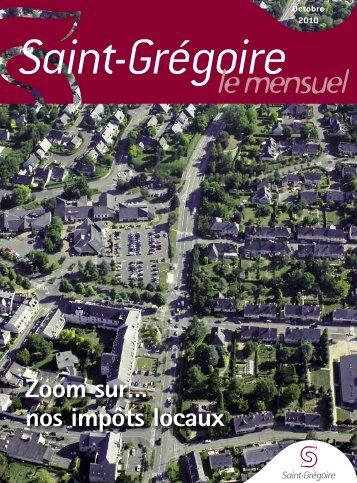 Saint-Grégoire, le Mensuel Novembre 2010