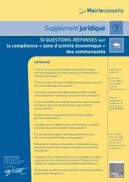 10 questions réponses sur la compétence ZAE ... - SCOT du Bessin