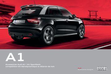 A1 Sportback competition kit Aérodynamique et Aileron de toit