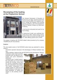 Case Story Polytechnic School.indd - Termico