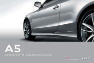 Audi A5 Sportback   A5 Coupé   A5 Cabriolet Accessories - Audi.vn