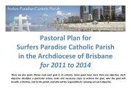Pastoral Plan for Surfers Paradise Catholic Parish in the ...
