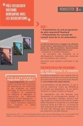 Pôle associatif Rostand Rencontre avec les associations Newsletter ...