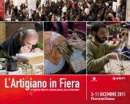3-11 DICEMBRE 2011 - L'Artigiano in Fiera