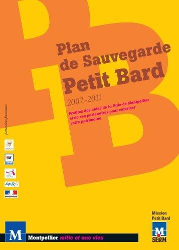 Télécharger la plaquette de présentation du ... - SERM - Petit Bard