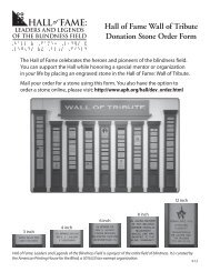 Download the order form (PDF) - American Printing House for the ...